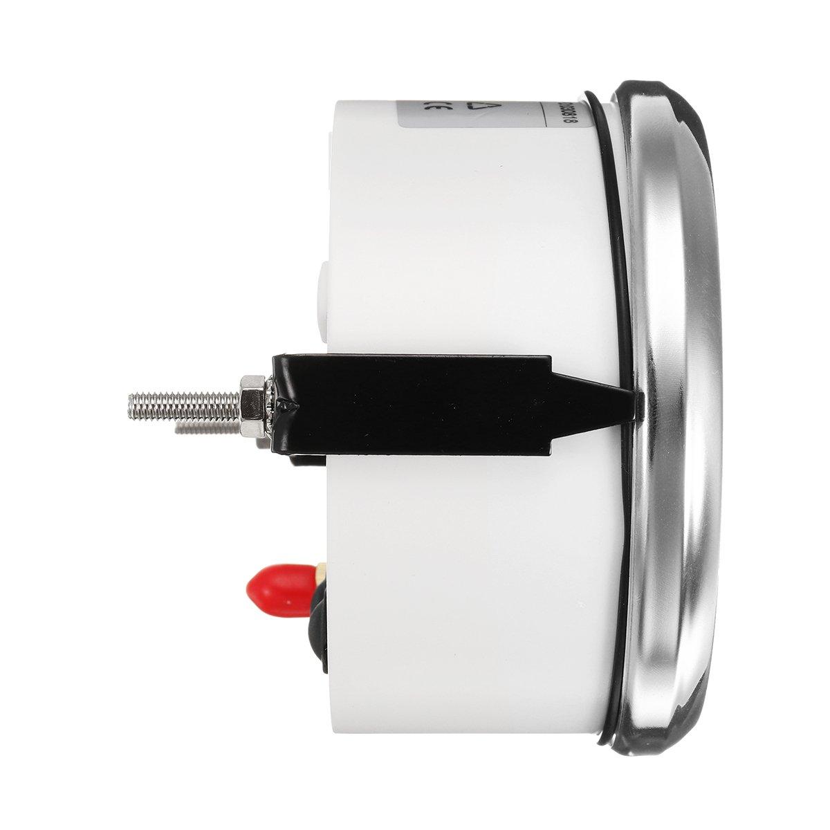NeDonald 85mm GPS Speedometer Oil Pressure Fuel Gauge Tachometer with Antenna by NeDonald (Image #4)