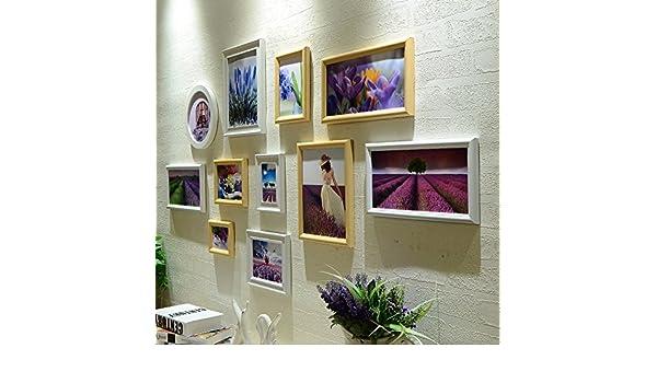 XKDHC® Portaretrato creativo de pared pared salón combinación Europea Mediterránea Oriental foto marco colgante de pared , 1: Amazon.es: Electrónica