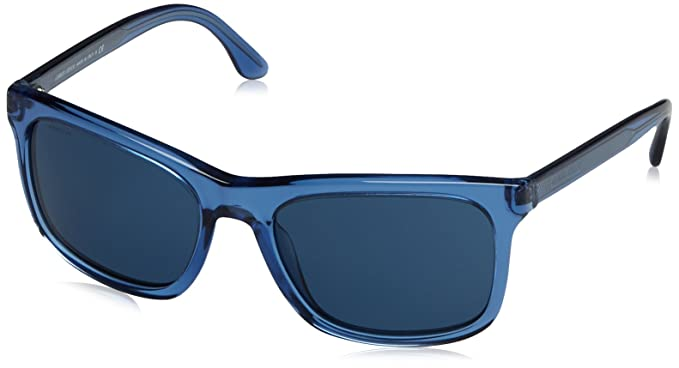 cad0af40291 Amazon.com  GIORGIO ARMANI AR8066 - 535880 Sunglasses Blue 56mm ...