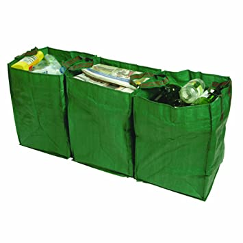 Bosmere Products Ltd - Bolsas de reciclaje (347 g ...