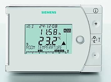 Siemens REV24; Uhrenthermostat Digital Push and Roll mit Wochenprogramm 1/A7