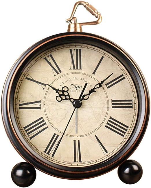 Retro clásico del despertador Alarma Redonda Vintage Relojes De ...
