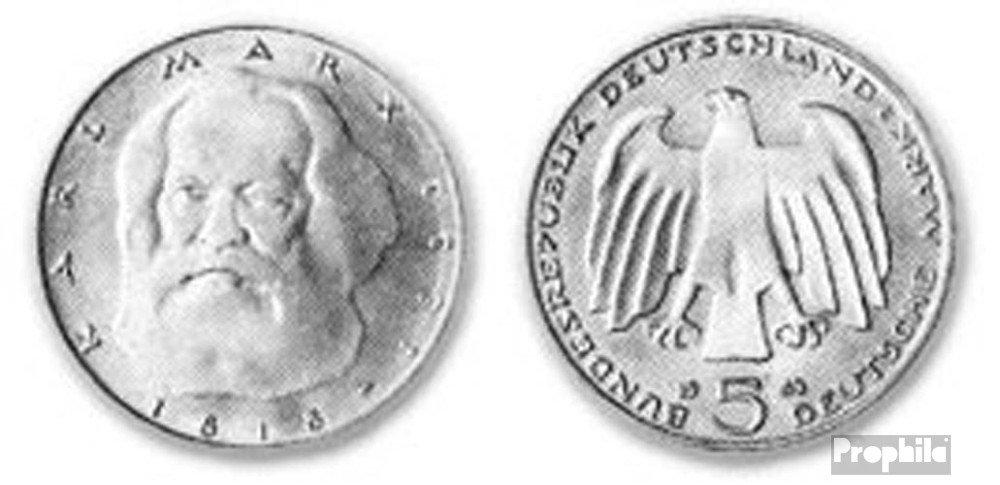 Brd Brdeutschland Jägernr 433 1983 J Vorzüglich Kupfer Nickel