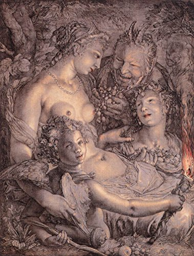 Without Ceres and Bacchus, Venus would Freeze by Hendrick Goltzius - 20