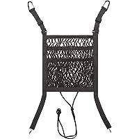 Organizador de malha de carro, suporte de bolsa de re de para carro entre os assentos, suporte de bolsa traseiro de 3…