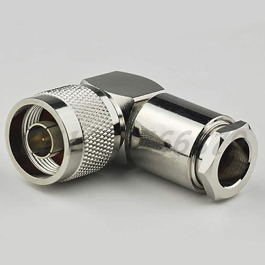Ochoos RF Conector de terminal de cable eléctrico N Plug ...