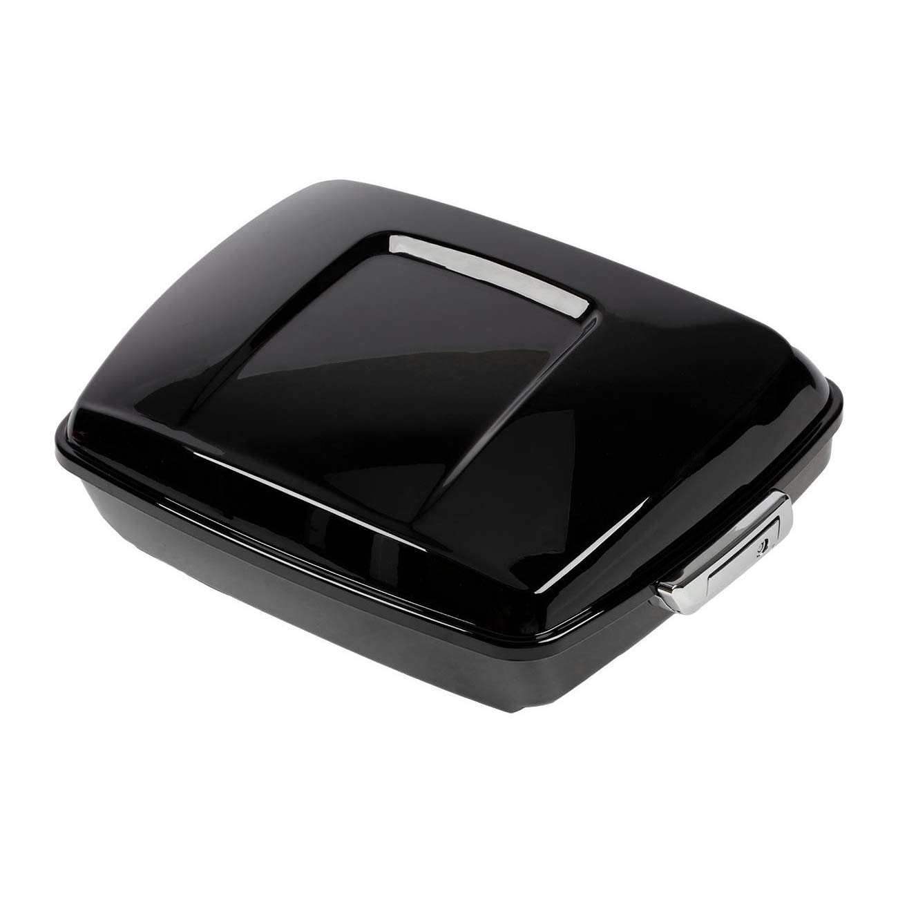 INNOGLOW Motorcyle Trunk Motorcycle Tail Box with 2 Keys Motorcycle Pack Trunk Fits for Harley Davidson Touring 2014-2019