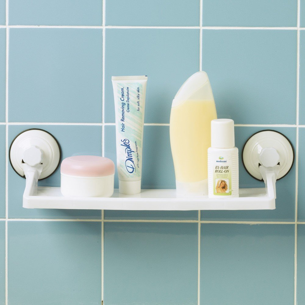 Bathroom Shelf (Suction Cup): Amazon.co.uk: Kitchen & Home