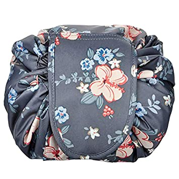 a0b89c6597d8 Portable Cosmetic Bag Drawstring Makeup Bag Waterproof Quick Pack Travel  Case Toiletry Bag Pouch...
