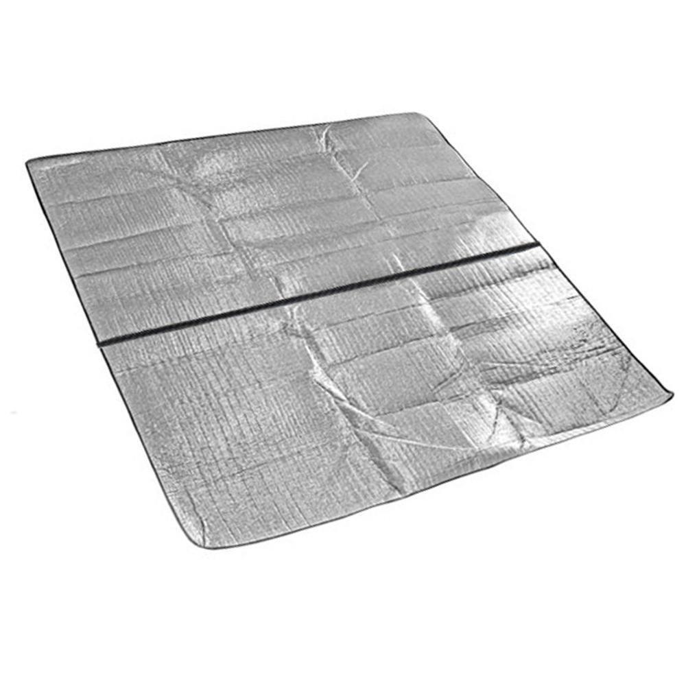 Axiba Im Im Im Freien Wasserdichten Picknickmatte doppelseitige Aluminiumpicknickdecke 300x300cm kriechende Matte Isomatte Wasserdichte Matte B07DRB5MBT | Gemäßigten Kosten  be2c4b