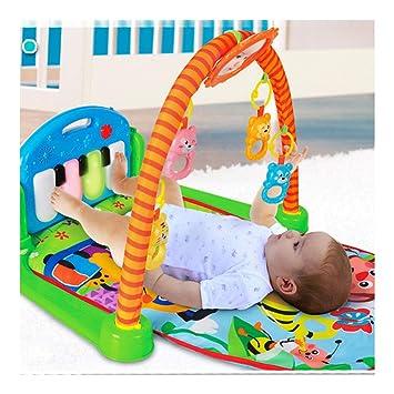 Amazon.com: Alfombrilla de gimnasio para bebé, centro de ...