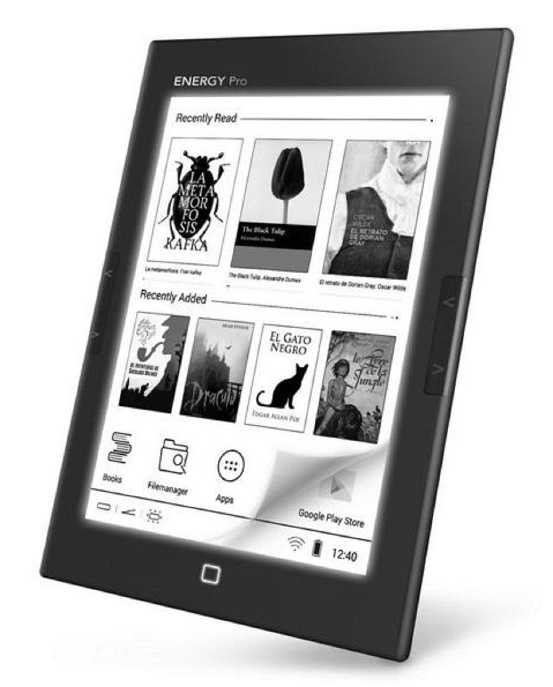 Sistema de Energía eBook eReader Pro HD 6