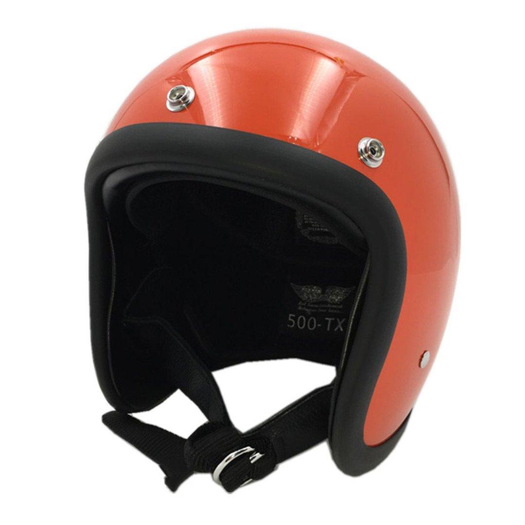 Amazon.com: TOUKUI Face Motorcycle Helmet Vintage Motorcycle Helmet Chopper Retro Helmet Bell: Sports & Outdoors