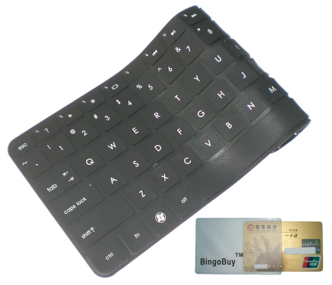 Bingobuy Black Ultra Thin High Quality Soft Silicone Keyboard Toshiba Satellite C805 C800 Series Protector Skin Cover For E45t A P845 P845t L800 L805 L830 L840