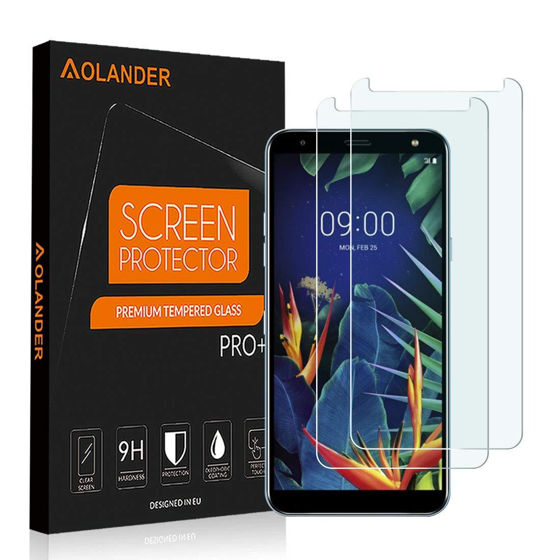 Vidrio Templado para LG K40 AOLANDER [2 Unidades]