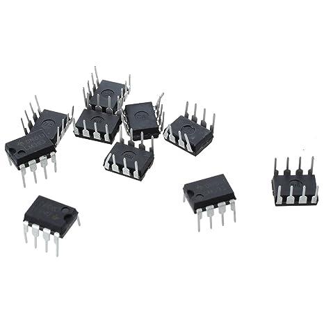 TOOGOO(R) 10 PCS LM393N LM393 DIP-8 Comparador de baja tension de