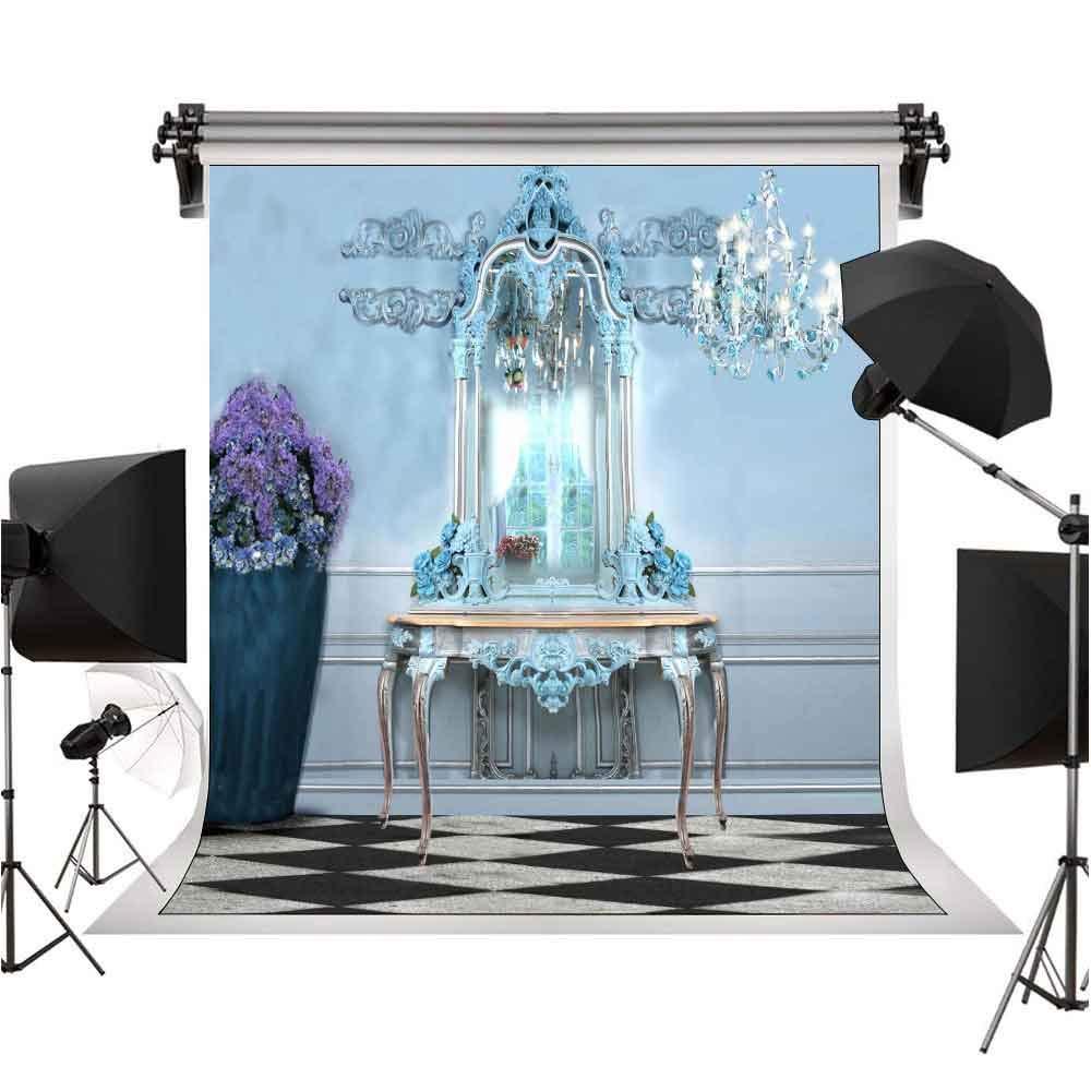 クラシック ヨーロピアン 寝室 ドレッシング テーブル 背景 写真 背景 ファッション 個性 写真 背景 デコレーション 6X9FT STS XCST764   B07M6W6KF2