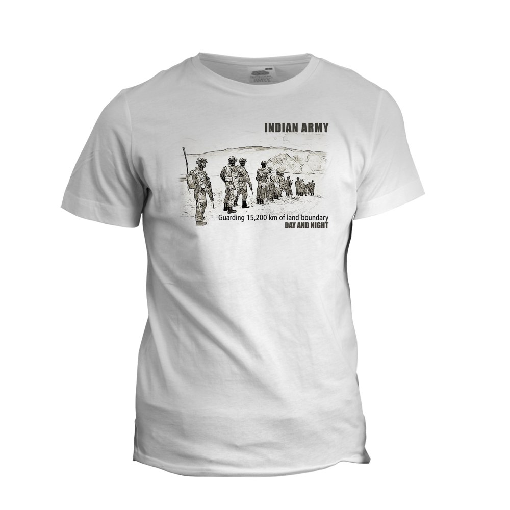 Support Indian Army T-Shirt Pulwama Attack