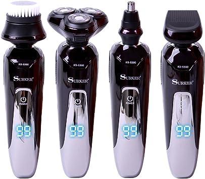 SURKER máquina de afeitar eléctrica para hombres Afeitadora ...