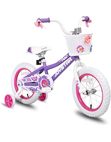 d2ec5465f1d JOYSTAR 12 14 16 Inch Kids Bike with Training Wheels for 2-7 Years Old