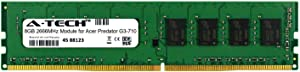 A-Tech 8GB Module for Acer Predator G3-710 Desktop & Workstation Motherboard Compatible DDR4 2666Mhz Memory Ram (ATMS316806A25818X1)