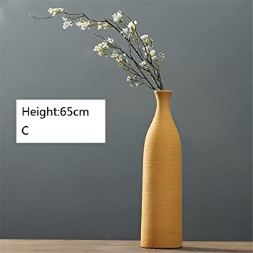 nohope las caseras con adornos de cermica y minimalista jarrones de flores secas adornos