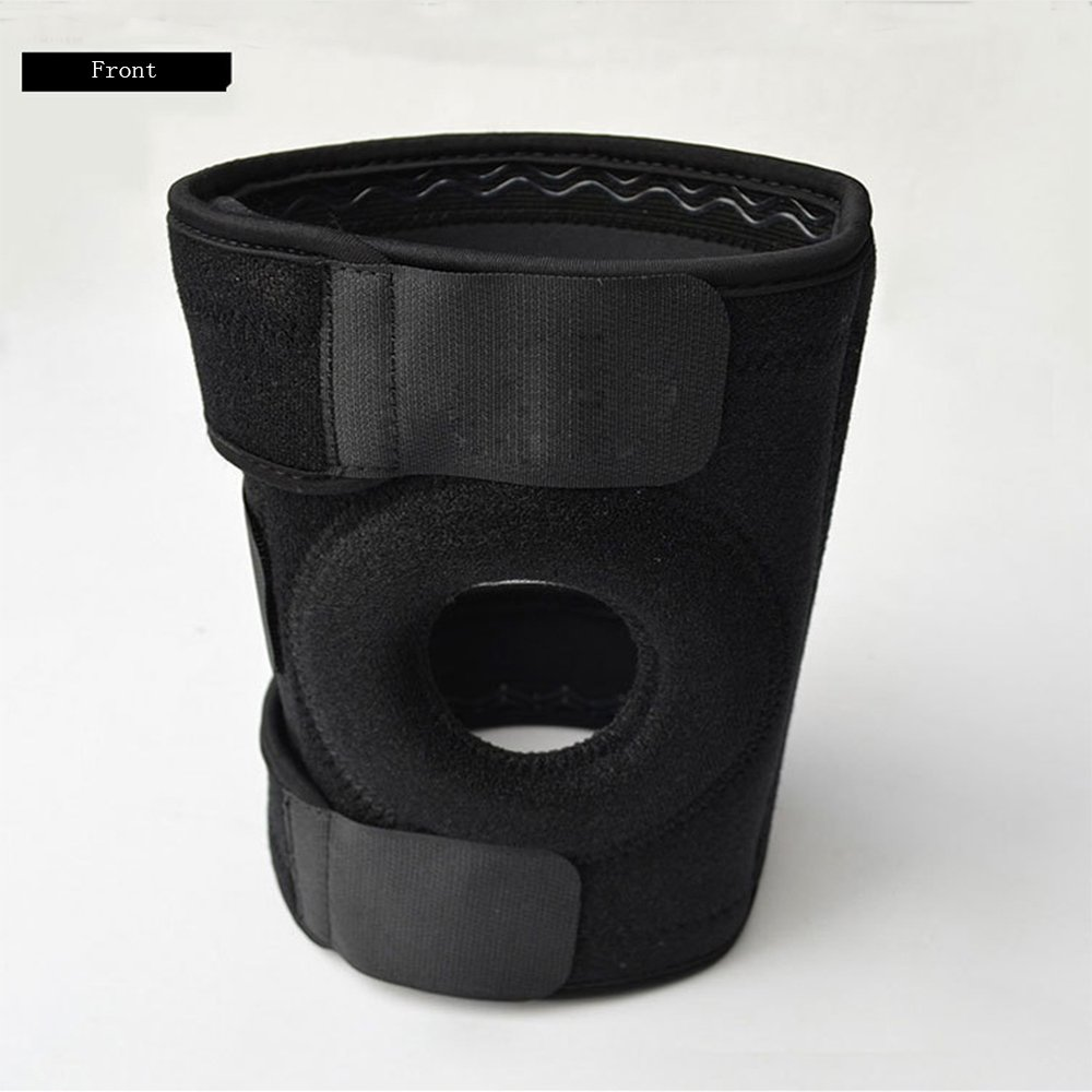 Breathable Neoprene Knee Brace Compression Support Sleeves-Stabilizers Fully Adjustable Neoprene Knee Pads Protector