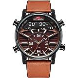 KAT-WACH Reloj para Hombre de Primeras Marcas de Lujo Deportivo Relojes Digitales Cronógrafo Reloj de Cuarzo Hombres…