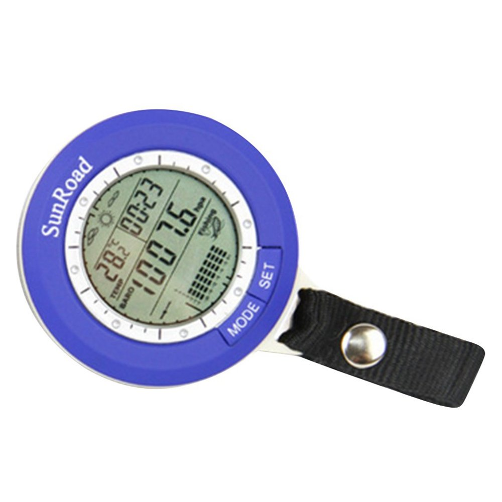 FASTROHY Multi-function LCD Digital Outdoor Fishing Barometer Altimeter Thermometer