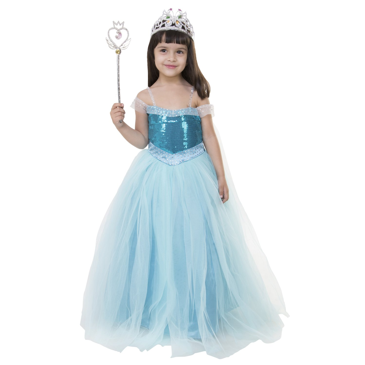 Samsara Souture Baby Princess Frozen Dresses Girl\'s Birthday Party ...