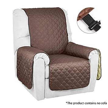 seacan Deluxe Reversible Protector acolchado para muebles sofá Cover Funda para sofá reclinable proteger para mascotas/perros/gatos y kids-chair, Loveseat, ...