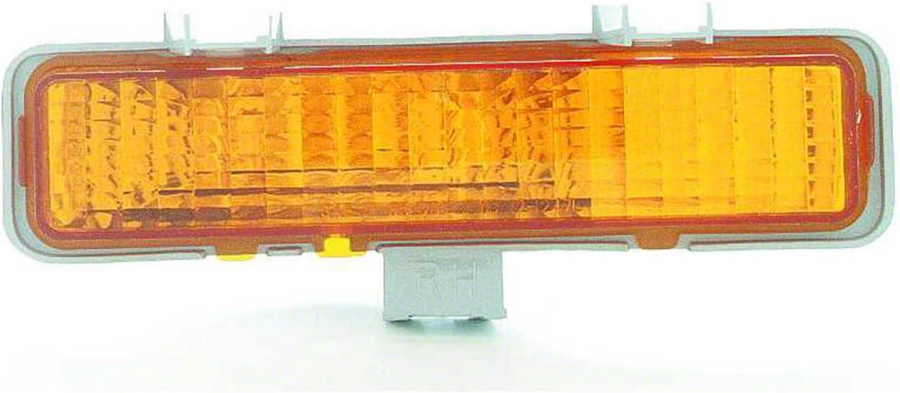 HEADLIGHTSDEPOT Front Parking//Signal Light Right Passenger Side Compatible With Chevrolet S10 S10 Blazer