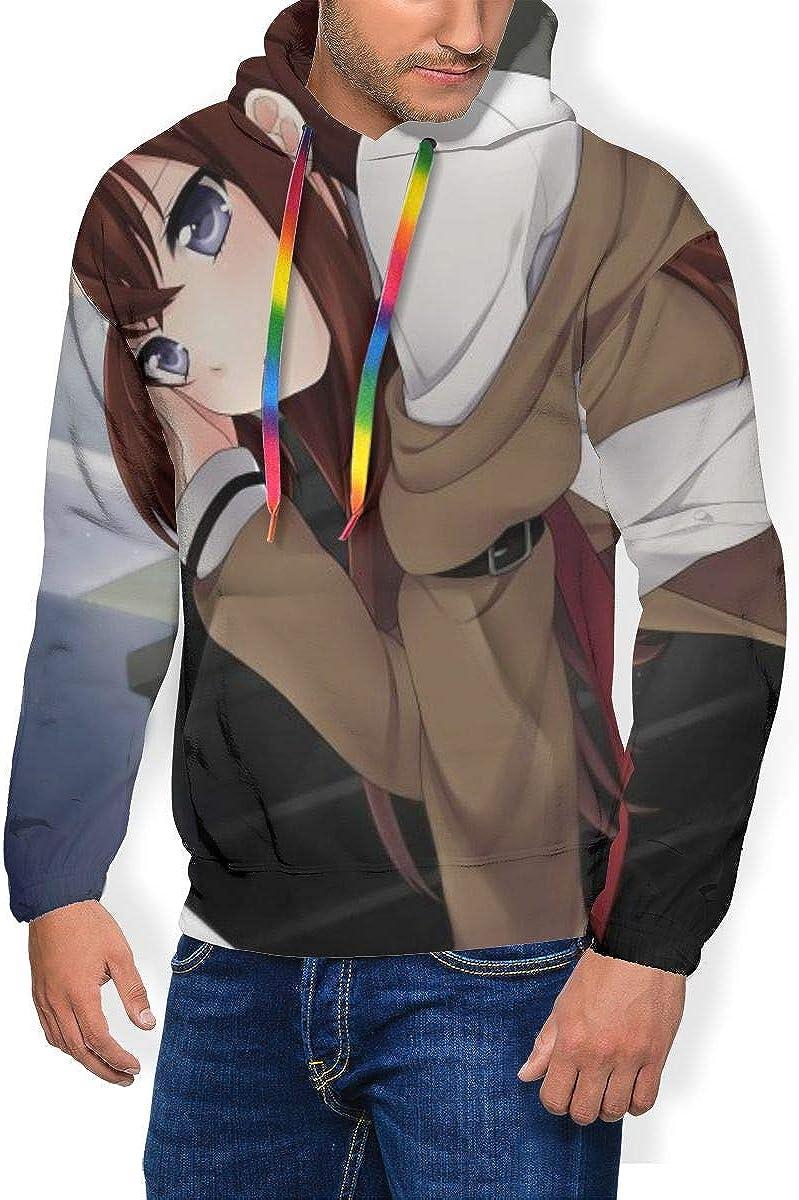 Fashion Anime Hooded Sweatshirts ErnestineDavis Steins; Gate Thicken Hoodies