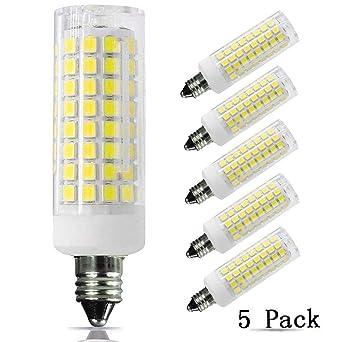 E11 Bombilla LED 75 W 100 W bombillas halógenas de repuesto, 850 lúmenes, ...