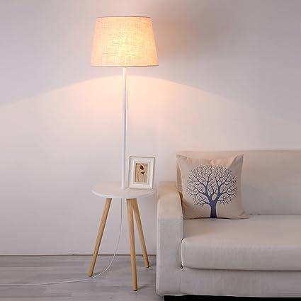 Lámpara de pie MMM Salón Dormitorio nórdico Simple Sofá ...