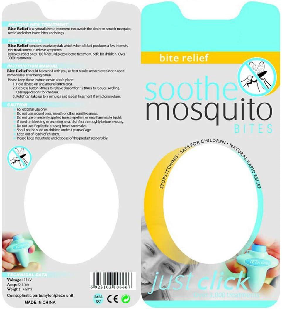 Quartz Crystal Itch Remover Mosquito Bites Skin Care Safe Home Mini Treatment