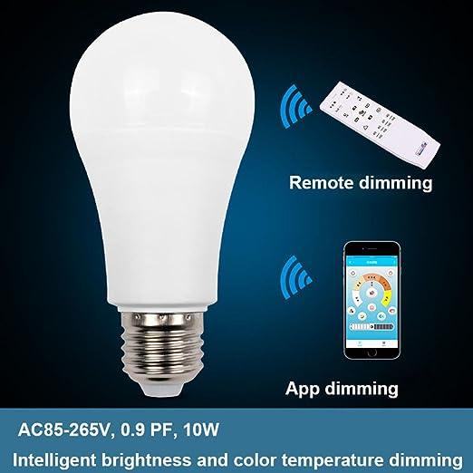 Amazon Com Led Dimming Bulbs 10w Dimmable E27 Led Bulb Smart Ic
