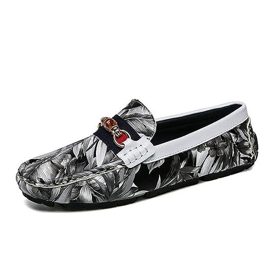 Apragaz Mocasines para hombre , Patrón De Camuflaje Moda Zapatos ...