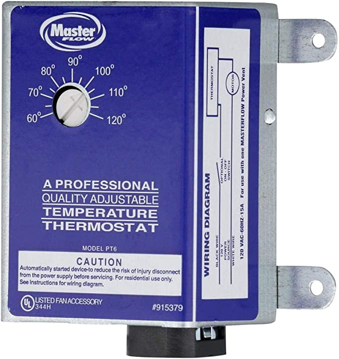 Generic Replacement Power Vent Thermostat - Roof Vents - Amazon.comAmazon.com