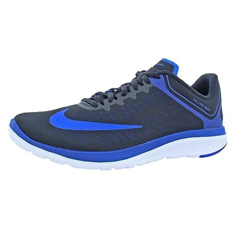 b4a44e94d52 Nike FS Lite Run 4 Black Racer Blue Deep Royal Blue White Men s Running  Shoes  Amazon.ca  generic
