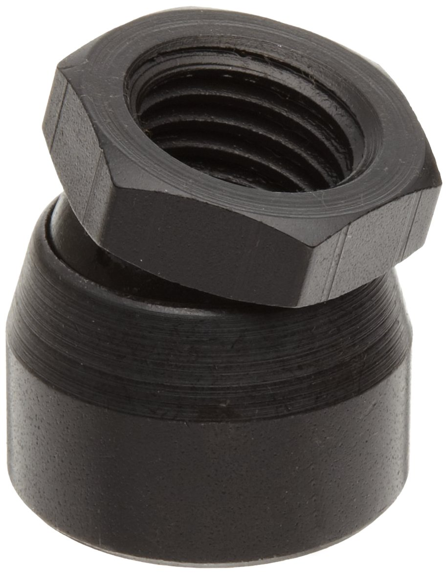 TE-CO 44305 Toggle Pad Black Oxide, 1/2-13 Thread Size (5-Pack)