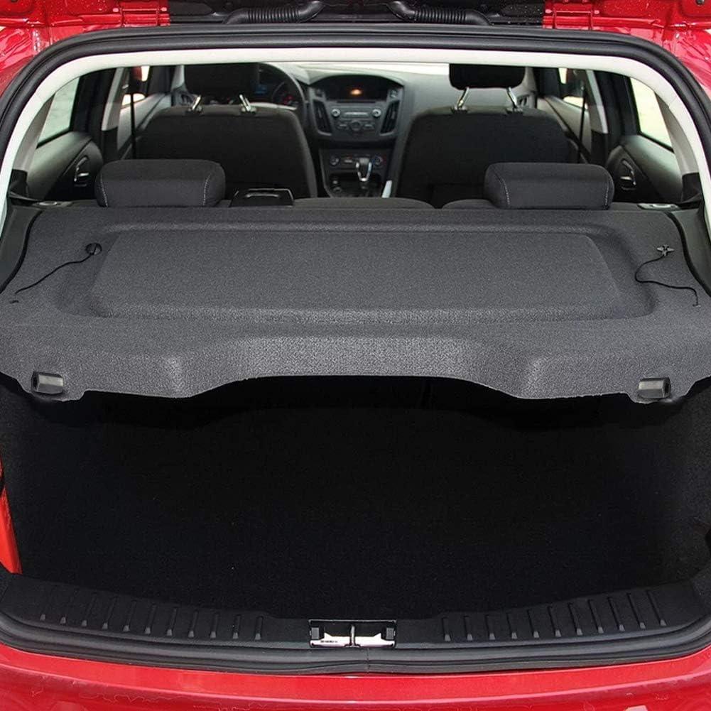 MarretooAuto Factory Style Shade SUV Luggage 13-18 Retractable Cargo Cover for 2017 2018 Ford Escape Black Shield