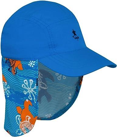 UPF 50 Tuga Girls Flap Hats Sun Protection Sun Hats