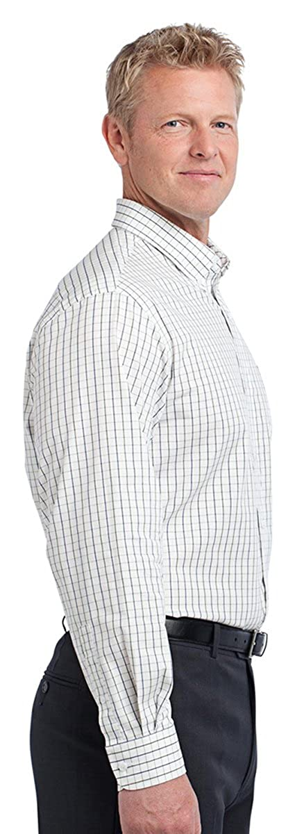 Port Authority Mens Tattersall Easy Care Shirt