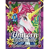Unicorn Coloring Book An Adult With Fun Relaxing And Beautiful