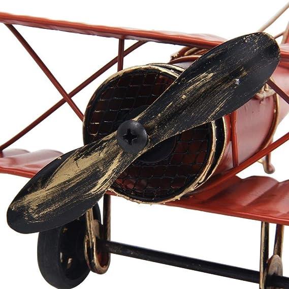 oficina en casa decoraci/ón de escritorio decoraci/ón del hogar Adorno de avi/ón de juguete Large 8.5  Retro Airplane Modelo de avi/ón Retro Primera Guerra Mundial alas alemanas Modelo-ww1 aviones