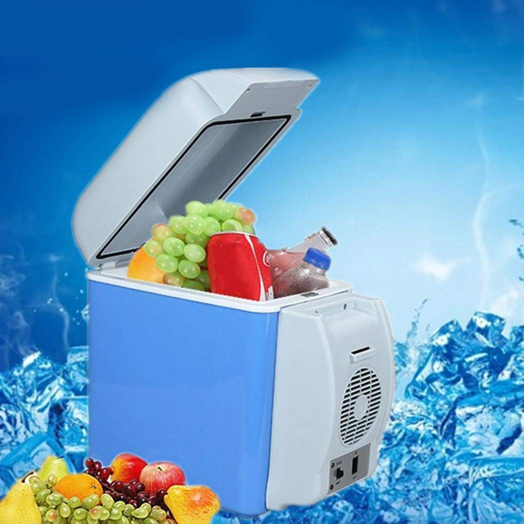 LEANO 7.5L Mini Car Refrigerator Low Noise Cooling Heating Portable Dual-Use Fridge Beverage Refrigerators by LEANO (Image #2)