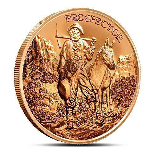 2015 Provident Prospector 1 Ounce Copper Round