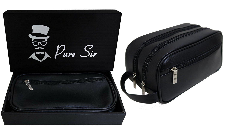 New Mens Toiletry Bag/Dopp Kit/Shaving Bag/Travel Kit For All Your Toiletries