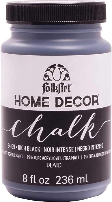 Top 9 Home Decor Black Chalk Paint
